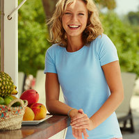 Fruit of the Loom Lady Fit - Womans T Shirts