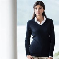 H721 Women's v-neck jumper