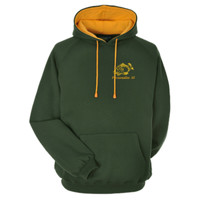 Personalised embroidered Carp fishing hoodie