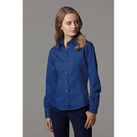 Women's corporate Oxford blouse long sleeved