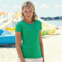 Lady-Fit Valueweight Teeshirts - Fruit of the Loom