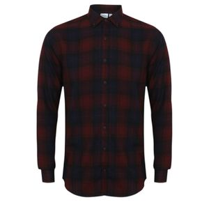 SF Men Brushed Check Casual Shirt Thumbnail