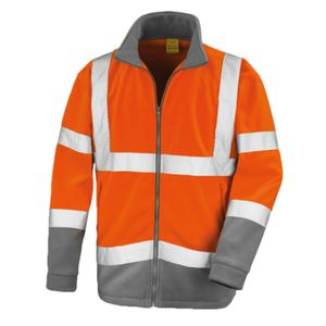 Result Safe-Guard Hi-Vis Micro Fleece Jacket Thumbnail