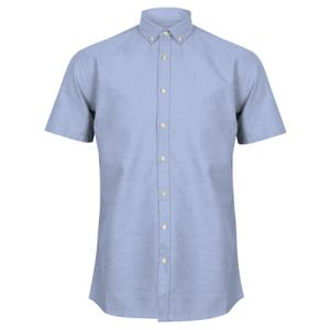 Henbury Modern Short Sleeve Regular Fit Oxford Shirt Thumbnail