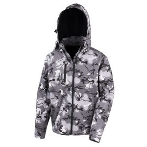 Result Urban Camo TX Performance Soft Shell Jacket Thumbnail