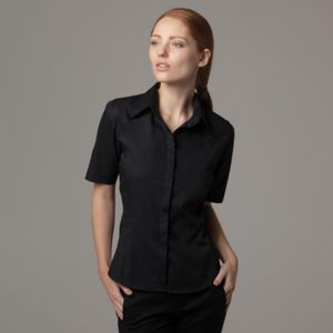 Bar blouse short sleeve ladies Thumbnail