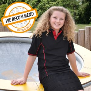 Kids Elite Uniform Polo Shirt (PL-CEL) Thumbnail