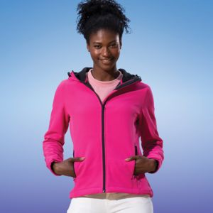 Regatta Standout Ladies Arley II Hooded Soft Shell Jacket Thumbnail