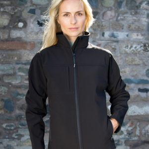 Result Ladies Classic Soft Shell Jacket Thumbnail