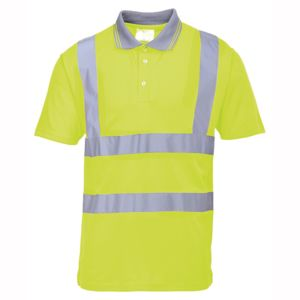 Hi-vis polo shirt (Portwest S477/RT22) Thumbnail